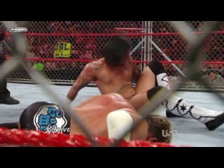 Chris Jericho vs. CM Punk - World Heavyweight Championship Steel Cage Match (WWE Monday Night Raw 15.09.2008