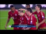 Лига Чемпионов. 1/2 финала. Барселона 0 - 3 Бавария. Гол Мюллер. 01-05-2013